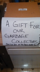 For the Garbage Collectors