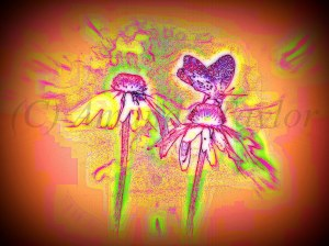Example of my Springtime artwork. (Prints for sale! *wink*)